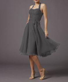 Possible dress (orange and gray wedding)
