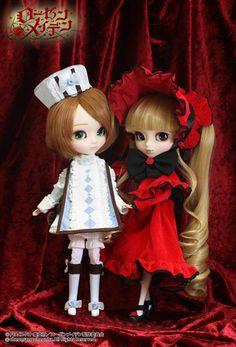 Pullips Rozen Maiden Keikujyaku and Shinku 2014 Version #doll #pullip #rozenmaiden #anime