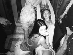 "mertalas: ""Butt i love u"" Kendall Jenner, Lily Donaldson, Gigi Hadid"