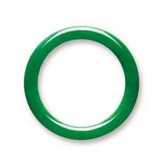 Jadeite Bangle sold at Sotheby's - featured on OMG that dress!