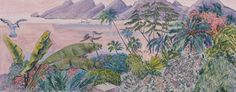Ferdinand Finne – Innseilingen til Marquesas-øyen Ferdinand, Auction, House, Painting, Art, Art Background, Haus, Painting Art, Kunst