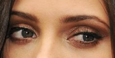 The Eye Makeup Color You're Going To Want To Wear This Weekend (Thanks To Ashley Greene And One Makeup-Savvy Reader) - bronze eyeshadow Bronze Eye Makeup, Bronze Eyeshadow, Cute Makeup, Hair Makeup, The Beauty Department, Gorgeous Eyes, Face Hair, Colorful Makeup, Eye Make Up