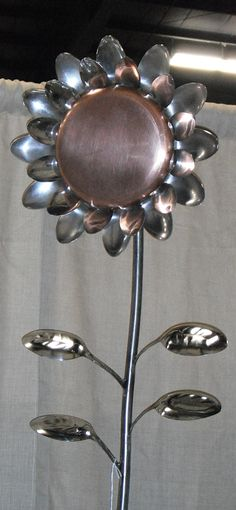 """Explore our web site for even more relevant information on """"metal tree art welded"""". It is an exceptional area to read more. Metal Yard Art, Metal Tree Wall Art, Scrap Metal Art, Metal Projects, Metal Crafts, Primitive Candles, Spoon Art, Fork Art, Silverware Art"""