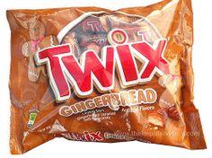 Gingerbread Twix!