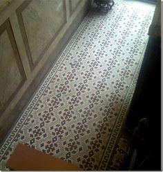 Hex Tile Hallway