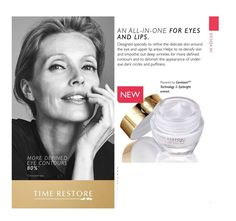 Novage Time Restore Eye & Lip Cream Oriflame 15ml