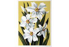 Daffodils by Lowell Blair Nesbitt