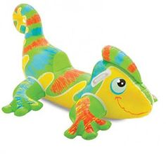 Intex Kids Smiling Geko Lizard Swimming Pool Ride On Toy 1380 X 910mm *** Click image for more details.Note:It is affiliate link to Amazon.
