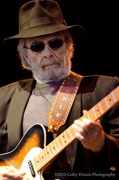 Merle Haggard (2012)..  all time favorite country singer