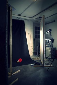 diy: home photo studio, built from scrap wood