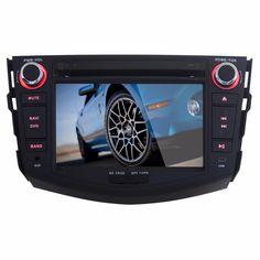 1024*600 2 Din Car GPS Navigation for Toyota RAV4 Android  Autoradio DVD Quad Core DVB-T Audio Radio 3G Tape Recorder