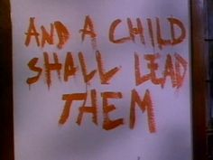 Signal Bleed: Stephen King Month: Children of the Corn Halloween 2016, Halloween Horror, Holidays Halloween, Halloween Party, Halloween Decorations, Horror Movie Costumes, Horror Films, Pokerface, Funny Horror
