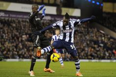 West Brom 1 Chelsea 1:  A West Brom debut for Thievy Bifouma, beating Nascimento Ramires to the ball.