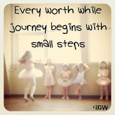 Small Steps.