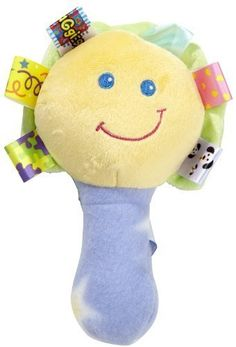 Sassy Baby Kids Children Crinkle Chime Rattle Jingle 2 Bugs Set Soft Doll Toys