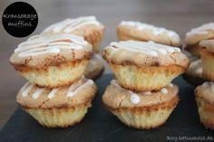 På Instagram viste jeg nytårsdag et billede af kransekage muffins som jeg netop havde bagt og skulle have med nytårsaften og hvor jeg blev spurgt om jeg ville dele opskriften. Det vil jeg selvfølgelig