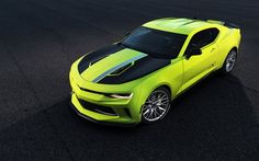 シボレーカマロ, 2016年, ターボAutoX概念, ウ, 緑のカマロ, スポーツカー