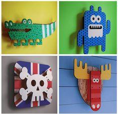 Arte 3D de Art Thingys para decorar paredes infantiles