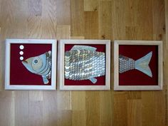 "Купить панно ""Денежная рыба"" - монеты, рыбы, рыба, знак рыбы, удача, денежное благополучие"