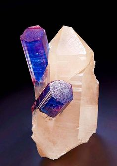 Tourmaline in Quartz from Paraiba, Brazil