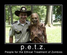 P.E.T.Z., the walking dead, television