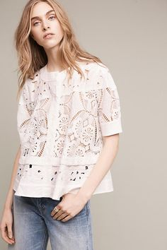 Shop the Eyelet Swing Top and more Anthropologie at Anthropologie today. Read customer reviews, discover product details and more.