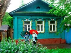 Have almost the same Dacha about an hour and half, north of Moscow. Built by my great-grandma and ggpa!