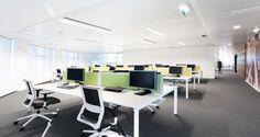 Open Space nos escritórios da Unit4 em Lisboa, Portugal