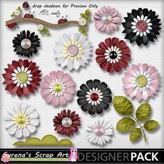 Ladybug Hugs Flower Pack