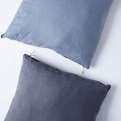 Color-Blocked Linen Floor Pillow on Food52
