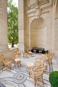 La Terrasse du Petit Palais, Paris.