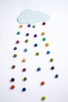 Nube de colores DIY : via La Chimenea de las Hadas