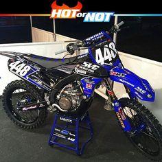 Hot or Not? Yamaha yzf250 of @brocshoemaker448 Get well soon! #hotornotmx…