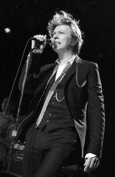 eternally chic Bowie.