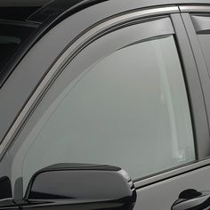 WeatherTech 70455 Series Light Smoke Front Side Window Deflectors - Side Window Deflectors WeatherTech(R) Side Window Deflectors, offer fresh air enjoyment with an original equipment look, installing within the window channel. They are crafted from the finest 3mm acrylic material available. Installation is quick and easy, with no exterior tape needed. WeatherTech(R) Side Window Deflectors are precision-machined to perfectly fit your vehicle's window channel. These low profile window…