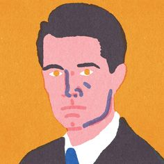 """Quick Portraits"" Kyle Mac Lachlan, by Lorenzo Gritti"