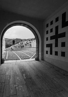 Gibellina, Mimmo Palladino, Montagna di sale, 1990