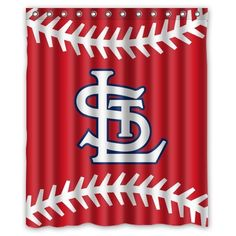 Wonderful Custom MLB St. Louis Cardinals Waterproof Polyester Shower Curtain 60x72  Nature Shower Curtain Http: