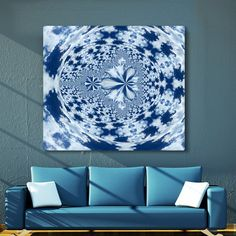 Excited to share the latest addition to my #etsy shop: Psychedelic Sky Kaleidoscope https://etsy.me/2HqdZKX #art #photography #blue #housewarming #white #abstractart #forbirthday #uniq #kaleidoscope