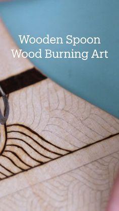 Diy Crafts Hacks, Diy Home Crafts, Creative Crafts, Crafts To Make, Wood Crafts, Fun Crafts, Arts And Crafts, Diys, Wood Burning Crafts