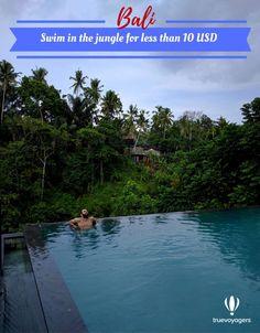 Swim in the best Balinese infinity pool