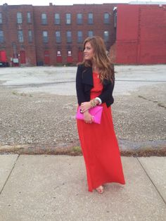 color block look on gussied up #bloggerstyle #colorblock