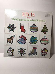 Elvis Presley Sings The Wonderful World of Christmas - RCA Lp ANL1-1936