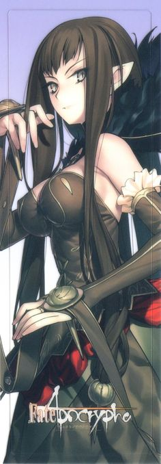 Semíramis - Assassin [of Red] - Fate/Apocrypha - Fate/Grand Order Fate Assassin, Assassin Of Red, Carlos Castaneda, Fantasy Character Design, Character Design Inspiration, Character Ideas, Fantasy Characters, Female Characters, Semiramis Fate