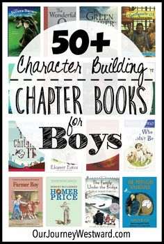 Huge List of Character-Building Chapter Books for Boys These character building chapter books for boys make great read alouds or read alones for all ages.These character building chapter books for boys make great read alouds or read alones for all ages. Read Aloud Books, Good Books, Books For Boys, Childrens Books, Kids Chapter Books, Audio Books For Kids, Toddler Books, Homeschool Books, Homeschooling