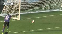 Is this worst own goal of the year...or possibly ever? Minnesota United goalkeeper Sammy Ndjock produced an embarrassing gaffe against Premier League side Bournemouth when he threw the ball into his own net.