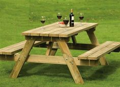 Make use of these cost-free picnic table plans to build a picnic table for your yard, deck, or any other area around your residence where you need sitting. Developing a picnic table is . Read Best Picnic Table Ideas for Family Holiday Garden Bench Table, Metal Garden Table, Build A Picnic Table, Wooden Picnic Tables, Outdoor Picnic Tables, Folding Picnic Table, Wooden Garden Benches, Patio Tables, Outdoor Benches