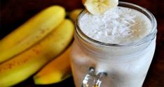 Coconut Banana Colada Smoothie cup coconut milk* cup pineapple juice 1 frozen banana (it doesn't need to be frozen, but they are the best!) cup pineapple chunks cup plain Greek yogurt 1 teaspoon vanilla extract pinch of salt dried coconut flakes Juice Smoothie, Smoothie Drinks, Healthy Smoothies, Healthy Drinks, Smoothie Recipes, Healthy Foods, Detox Smoothies, Healthy Eating, Coconut Smoothie