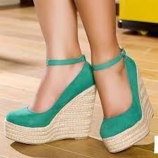 sandalia anabela - Pesquisa Google
