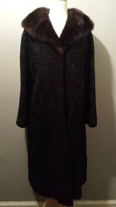 50s Elsa Schiaparelli Persian Wool Coat by InstantVintage78, $1200.00